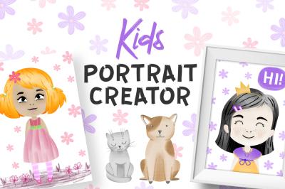Kids Portrait Creator