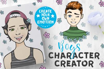 Boys Character Creator