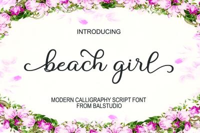 Beach Girl Script