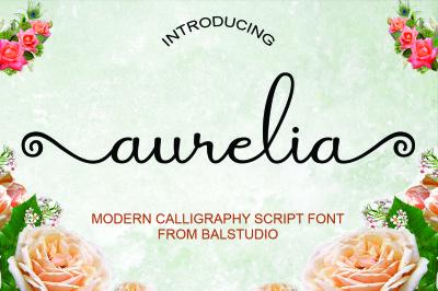 Aurelia Script