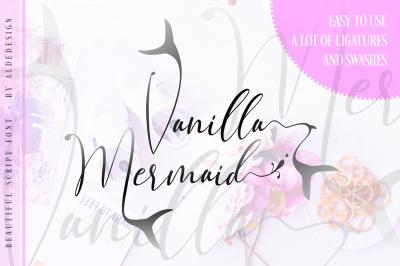 Vanilla Mermaid | Beautiful Script