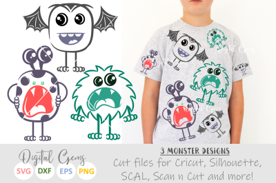 Monster, Halloween SVG / DXF / EPS / PNG files