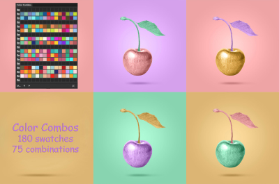 Color Combinations Ai Swatches