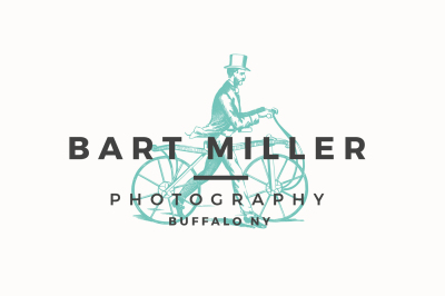 Vintage photography logo + business card