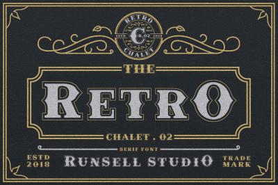 Retro Chalet .02