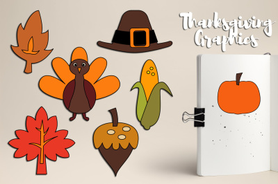 Simple Thanksgiving Graphics