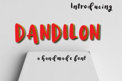 Dandilon Multilingual Typeface by Watercolor Floral Designs