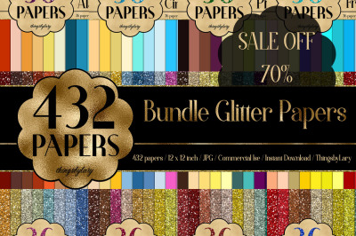 SALE OFF 432 Glitter Digital Paper, Princess Kid Party Paper