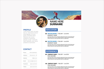Clean Personal Resume Template