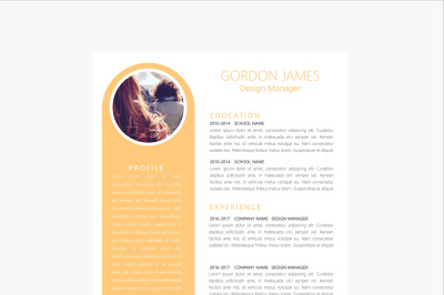 Clean Professonal Resume Template