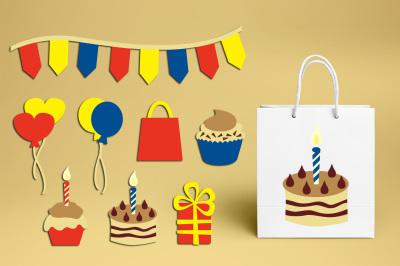 Happy Birthday Clip art Graphics