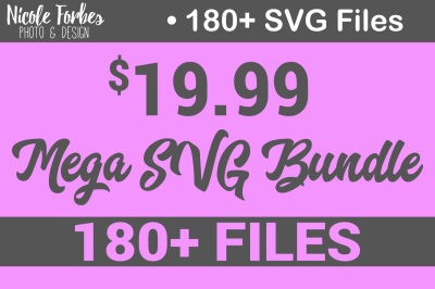 Mega SVG Bundle