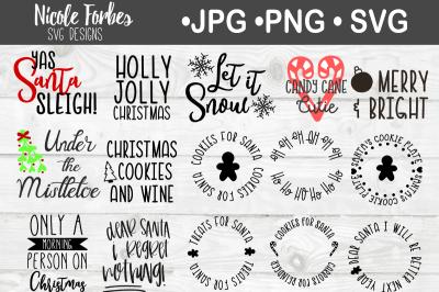 Christmas SVG Craft File Bundle
