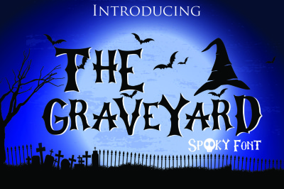 The Graveyard - Spooky Font