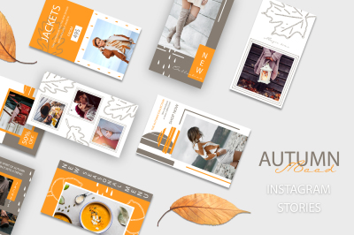 AUTUMN Mood - Instagram Stories Pack