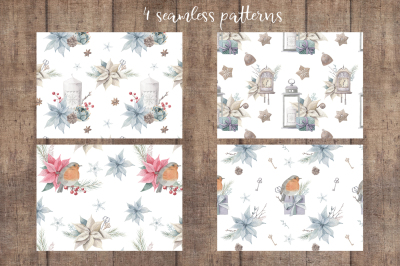 Christmas Dreams- Watercolor Set