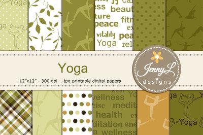 Yoga Digital Papers