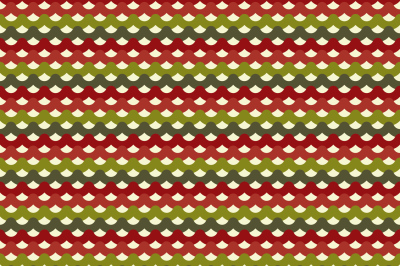 Knitted Christmas seamless pattern in traditional colors