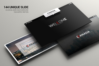 Canada Powerpoint Template