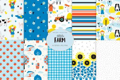 Little Farm pattern set