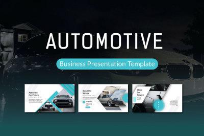 Automotive Powerpoint Template