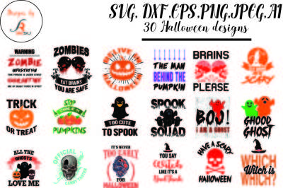 Halloween Bundle, SVG, DXF, PNG is currently included in a bundle!