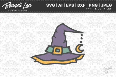 Witch Hat SVG Cutting Files