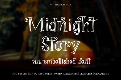 Midnight Story Font Family