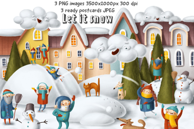 Beautiful Christmas picture+cards