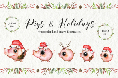 Pigs & Holidays