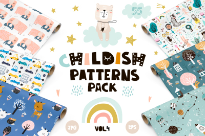 Childish patterns pack vol. 4