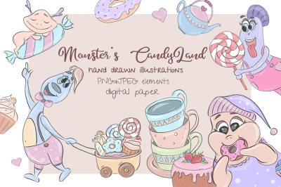 Monster's Candyland kit