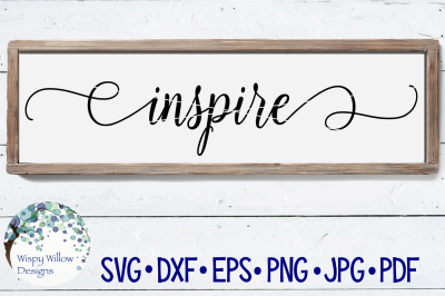 Inspire Sign SVG