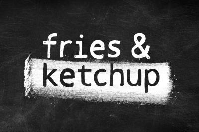Fries & Ketchup Font