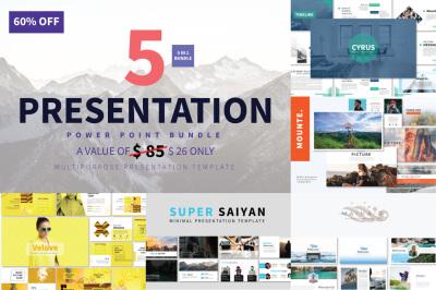 Bundle 5 In 1 - PowerPoint
