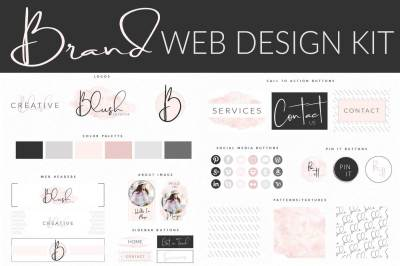 Blush Brand Web Design Kit