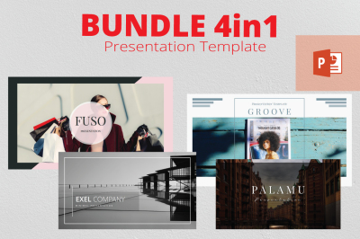 4in1 Bundle Powerpoint Template