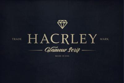 Hacrley Serif Font
