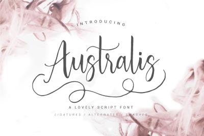 Australis - Brush Script