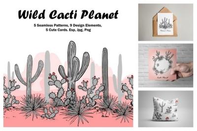 Wild Cacti Planet