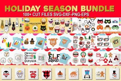 Holiday season bundle, Christmas, Halloween, Thanksgiving
