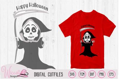 Grim reaper svg, halloween Toddler Cut file