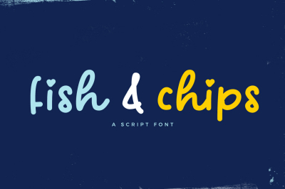 Fish & Chips Font