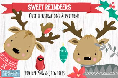 Christmas Sweet Reindeers