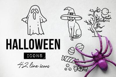 42 Halloween Icons