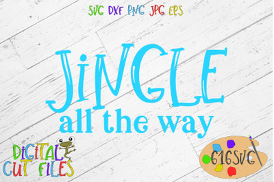 Jingle all the way SVG