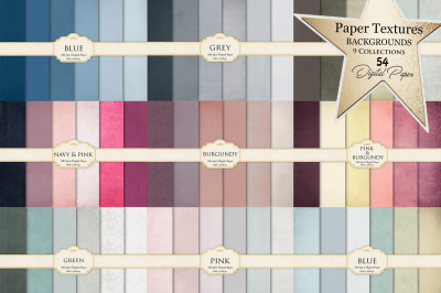 Paper Textures Background 9 Collections