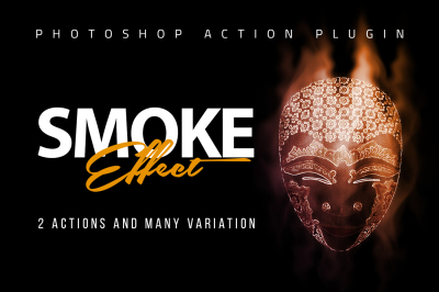 Smoke Effect Photoshop Action