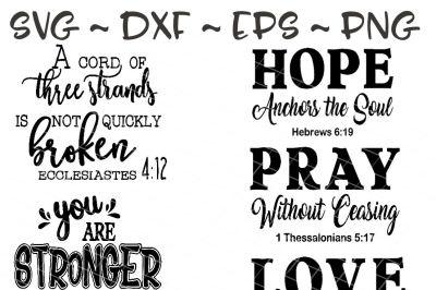 Christian Farm house sign bundle, Christian svg, Hope svg, Pray svg