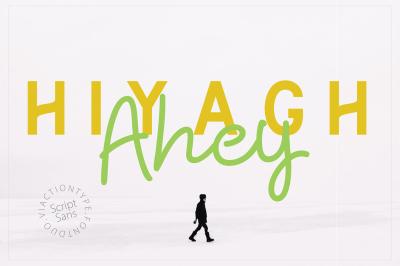 Hiyagh Ahey - Couple Fonts